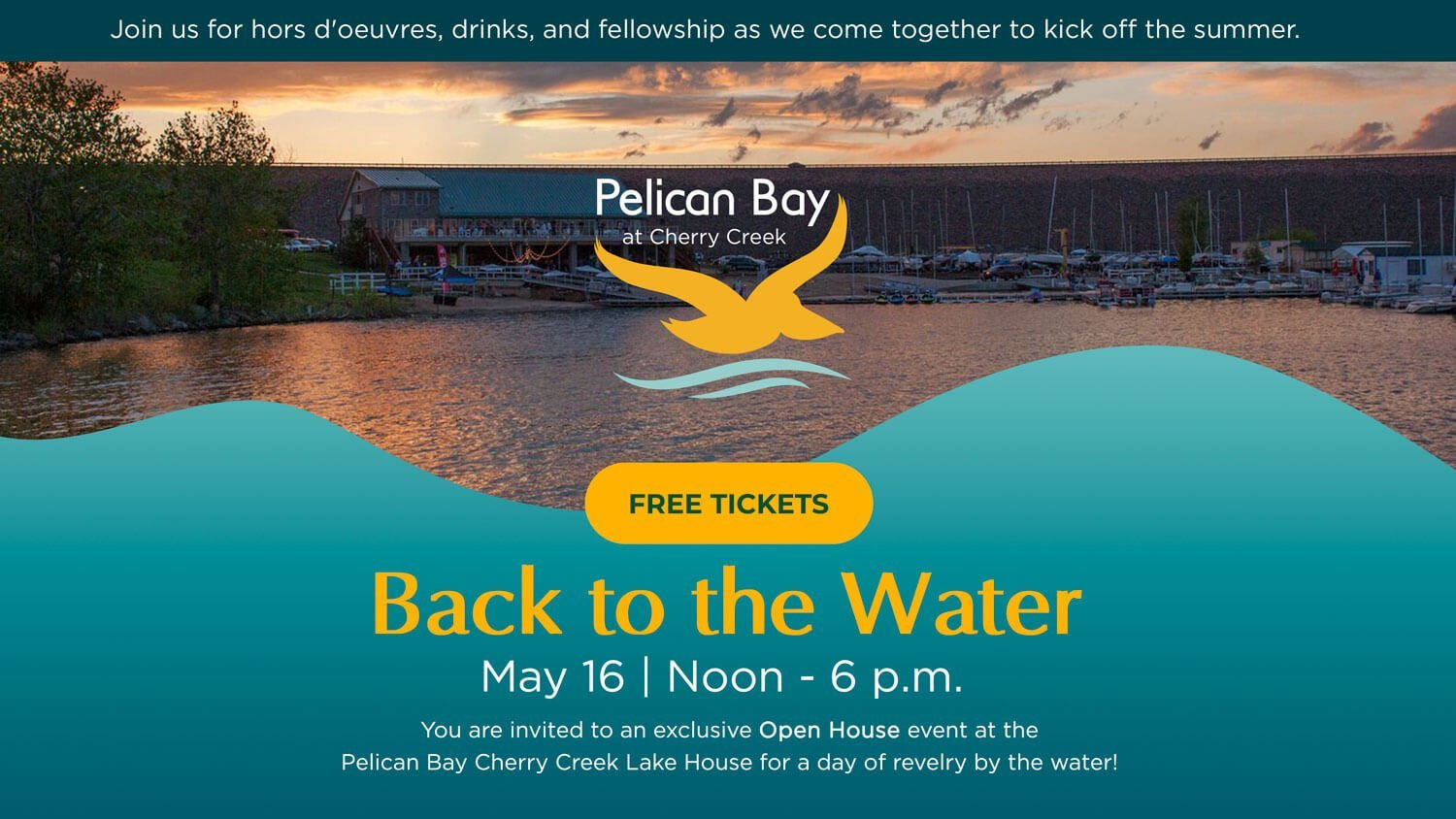 Back to the water Open House