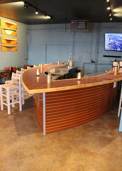 Event Center Private Bar Nautical Boat Water Themed
