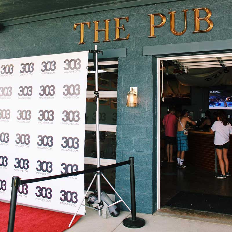 Photobooth at the Pub Company Event Venue in Denver Co